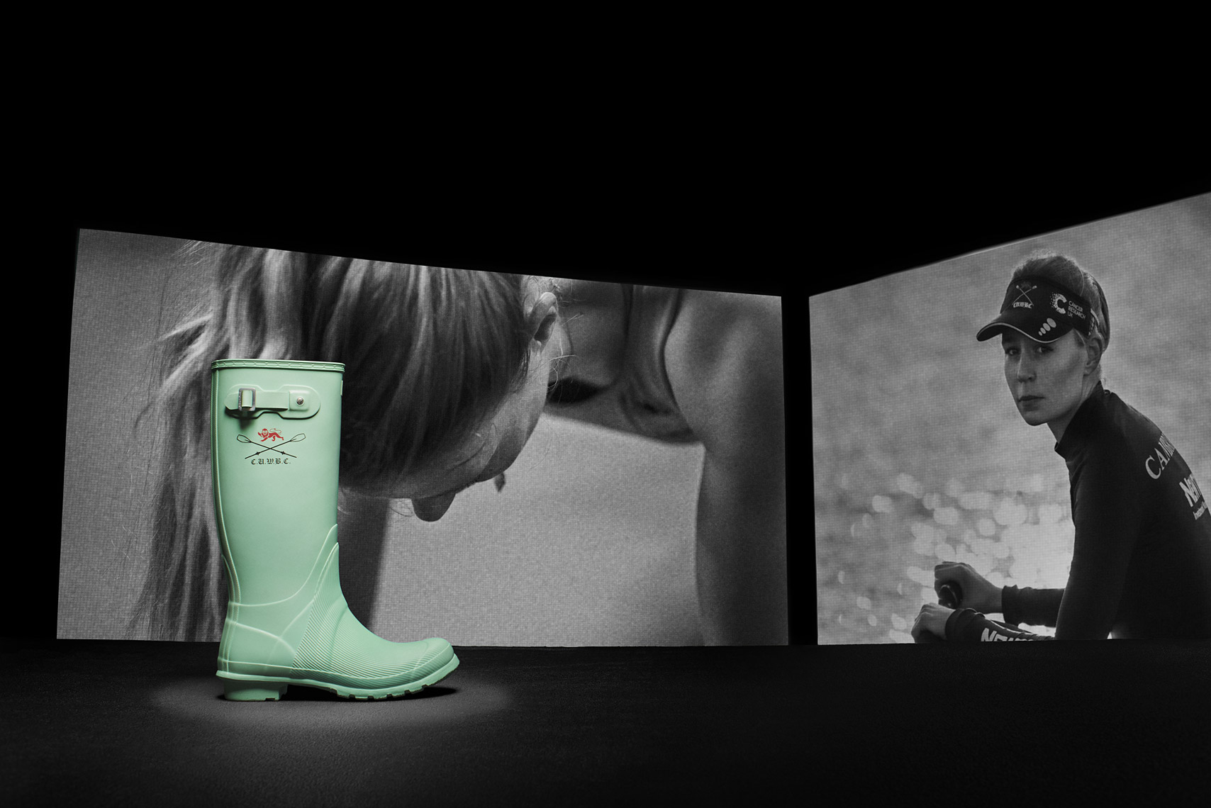 Claire Lambe  HUNTER BOOTS