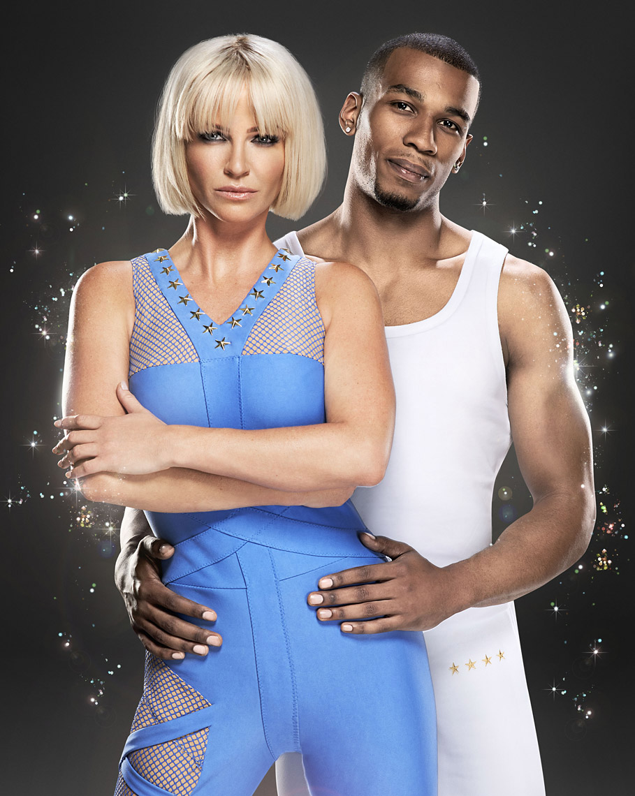 Sarah Harding and Leon Fagbemi -