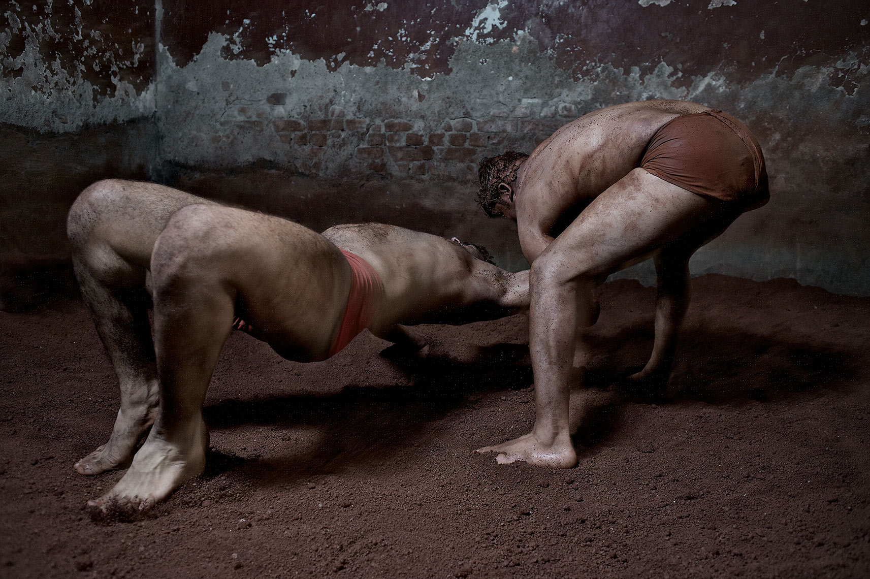 Kushti wrestlers India